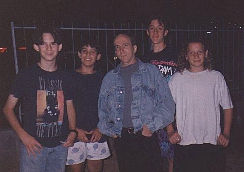 Danny Sanderson and the guys, 1994