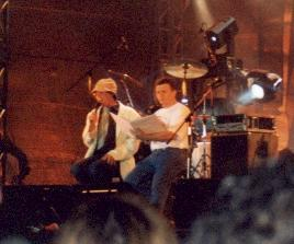 Gidi and Meir, during 'The Senior' ('HaVatik')